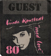 Linda Ronstadt Backstage Pass