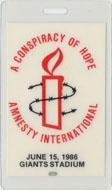 A Conspiracy of Hope Amnesty International Laminate