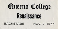 Renaissance Backstage Pass
