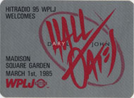 Hall & Oates Backstage Pass