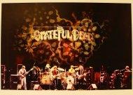 Grateful Dead, Moscone Center, San Francisco, California Vintage Print