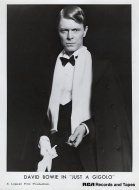 David Bowie In Just A Gigolo Promo Print