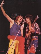 Rod Stewart & Ron Wood Handbill