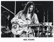 Neil Young Promo Print