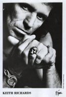 Keith Richards Promo Print