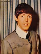 Paul McCartney Promo Print
