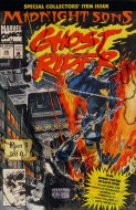 Rise Of The Midnight Sons: Ghost Rider Comic Book