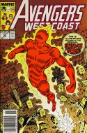 Avengers West Coast Comic Book