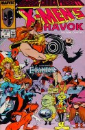 Marvel Comics Presents: The X-Men's Havok Comic Book