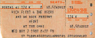 Heart Vintage Ticket