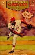 Baseball Greats: The Bob Gibson Story Comic Book
