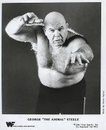 "George ""The Animal"" Steele Promo Print"