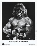 The Ultimate Warrior Promo Print