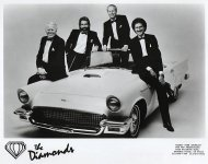 The Diamonds Promo Print