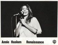 Annie Haslam Promo Print