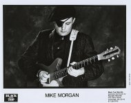 Mike Morgan Promo Print