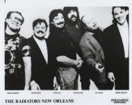 The Radiators New Orleans Promo Print