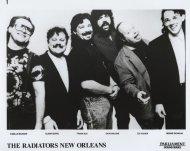The Radiators New Orleans Promo Print