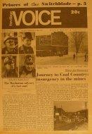 The Village Voice Vol. 16 No. 1 Magazine