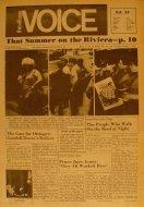 The Village Voice Vol. 15 No. 40 Magazine