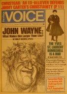 The Village Voice Vol. 21 No. 33 Magazine