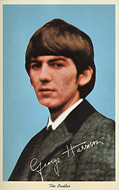 George Harrison Postcard
