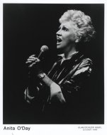 Anita O'Day Promo Print