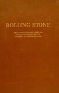 Rolling Stone: Issue Nos. 121 Through 125, Nov. 9, 1972 Through May 24, 1973 Book