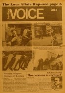 The Village Voice Vol. XVII No. 20 Magazine