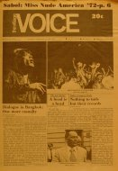 The Village Voice Vol. XVII No. 30 Magazine
