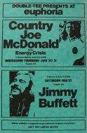 Country Joe McDonald Handbill
