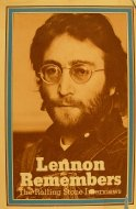 Lennon Remembers The Rolling Stone Interviews Book