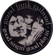 Grand Funk Railroad Sticker