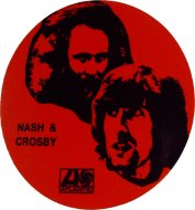 Crosby & Nash Sticker