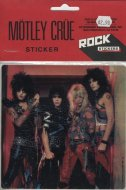 Motley Crue Sticker
