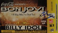 Bon Jovi Vintage Ticket