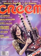 Creem Vol. 8 No. 11 Magazine