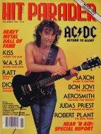 Hit Parader No. 254 Magazine