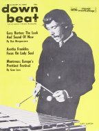 Down Beat Vol. 35 No. 16 Magazine