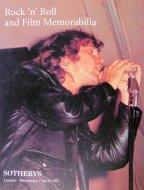 Rock 'N' Roll And Film Memorabilia Magazine