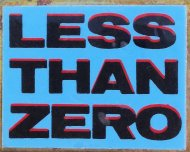 Less Than Zero Pin