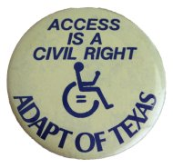 Adapt Of Texas Pin