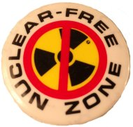 Nuclear - Free Zone Pin
