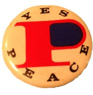 Yes Peace Pin