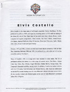 Elvis Costello Program