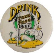 Drink Tree Frog Beer Pin