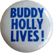 Buddy Holly Pin