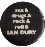 Ian Dury Pin