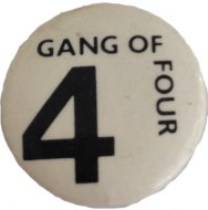 Gang of Four Pin