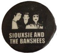Siouxsie & the Banshees Pin